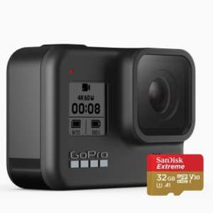 GoPro Hero 8 Black £303 with Student Discount via Unidays