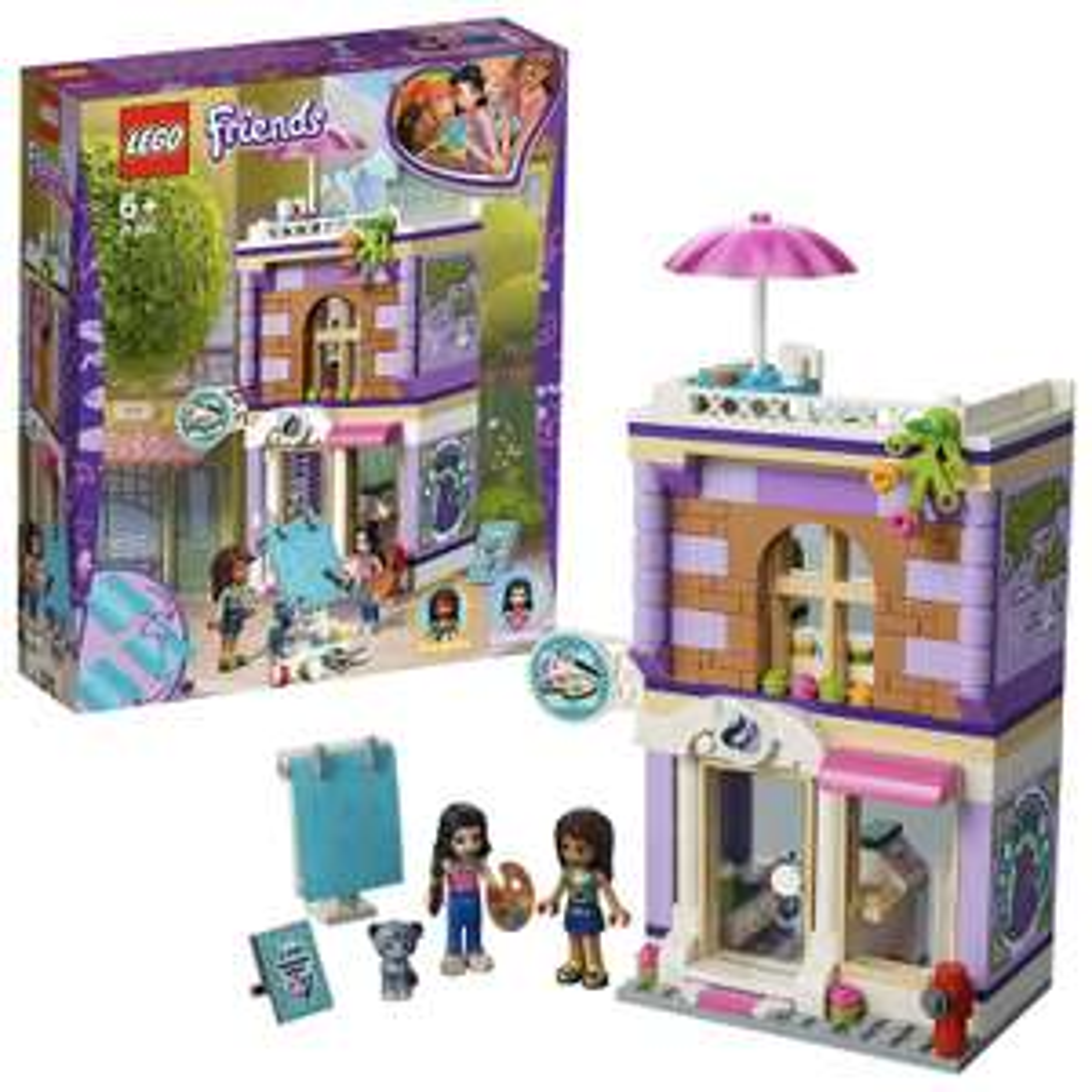 Lego Friends 41365 Emma's Art Studio Playset £12.99 (Prime) £17.48 (Non Prime) at Amazon