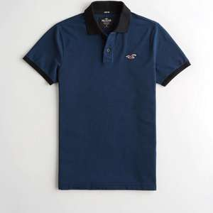 Hollister Stretch Polo £4.99 @ Hollister, free delivery on a £50 spend or £5