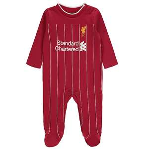 Official Liverpool FC Sleepsuit Baby and top and shorts £10 sets each @ George / Asda