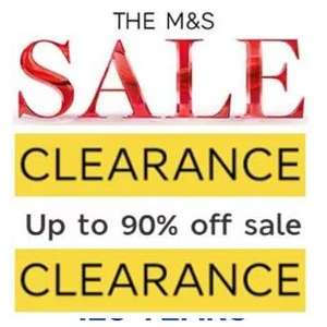 Marks and Spencer M&S over 90‰ clothing instore Swansea