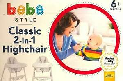 Bebe Style Classic 2 in 1 Highchair £9 @ Asda