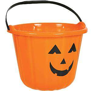 Halloween buckets 47p Asda instore / Various colours