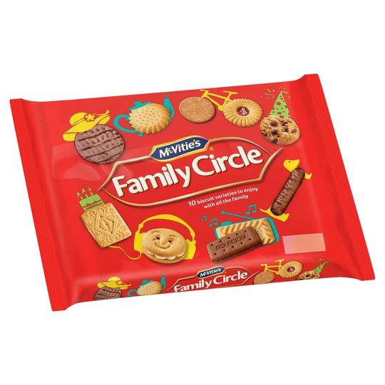 Mcvities Family Circle 360G £1.50 @ Tesco