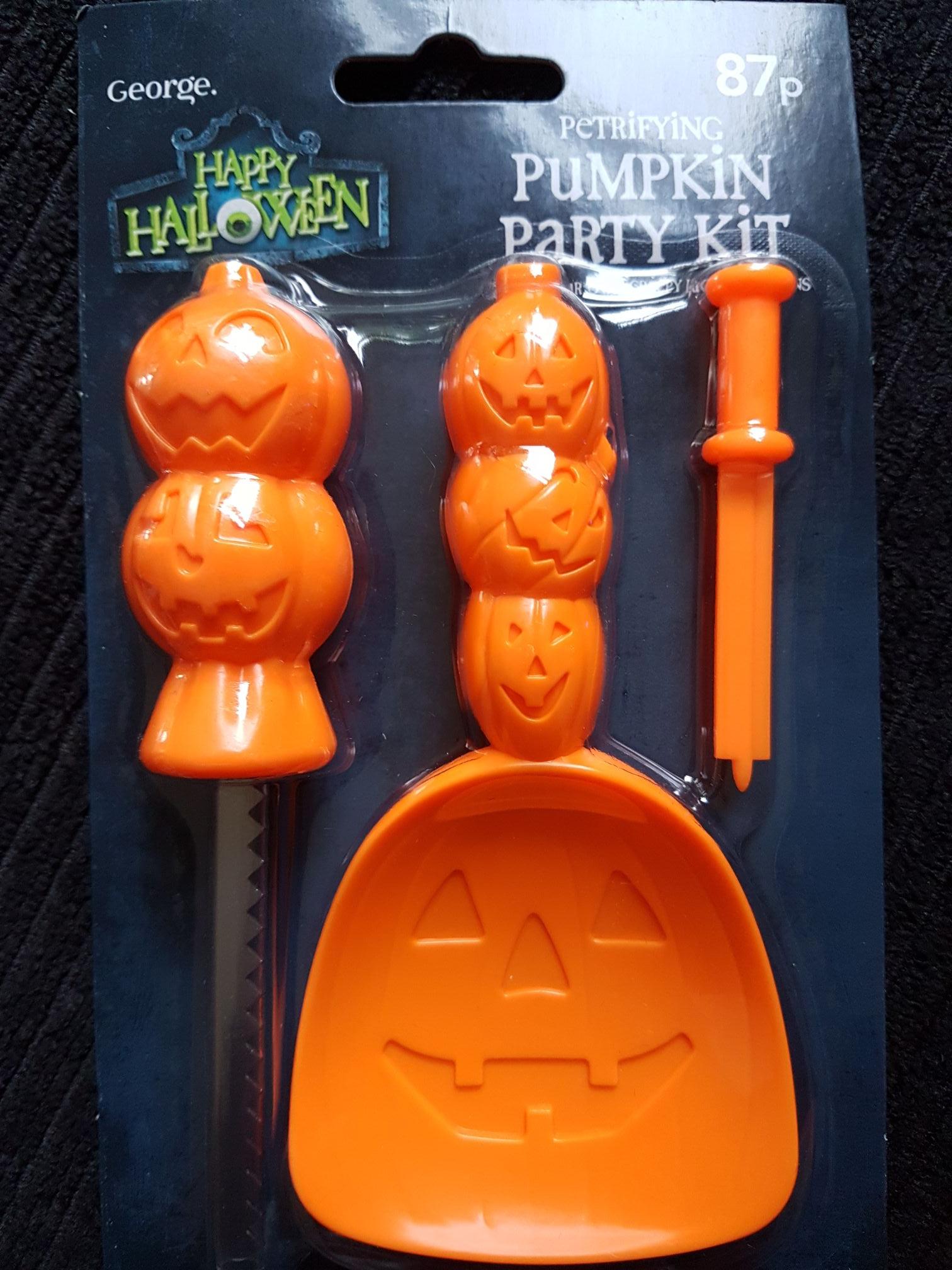 Pumpkin Carving Kit 87p instore @ Asda