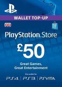 £50 Playstation Network (PSN) Card (UK) - £41.79 @ CDKeys