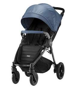 B-motion 4 plus canopy pack and apron - blue denim £75 @ Mothercare