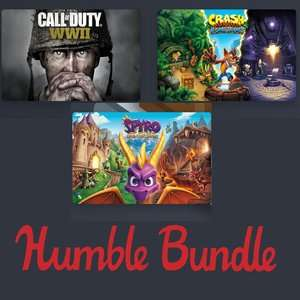 Humble November Bundle - Early Unlock: Call of Duty WWII, Crash Bandicoot N. Sane Trilogy, and Spyro Reignited Trilogy £9.73