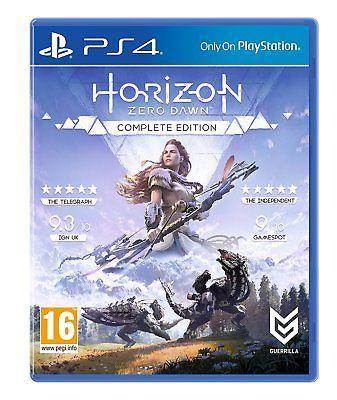 [PS4] Horizon Zero Dawn Complete Edition (Normal Cover) £13.95 delivered @ evergameuk/ebay