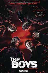 The Boys: Omnibus (14 comics in each book): Volume 1, 2 or 3 SIGNED by series writer & co-creator Garth Ennis  £18.62 @ Forbidden Planet