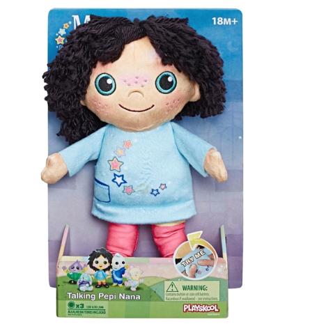 Moon and Me Talking Pepi Nana Plush Doll £12.49 @ Smyths Toys Free Click & Collect