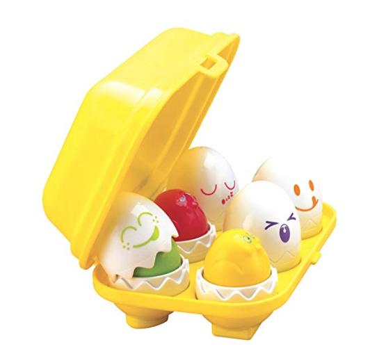 TOMY Toomies Hide n Squeak Eggs £6.33 prime / £11.15 non prime @ Amazon