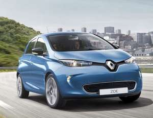 New RENAULT ZOE Fully Electric car (SAVE 36%) 80kW Dynamique Nav R110 40kWh 5dr Auto - £13,995 @ New Car Discount
