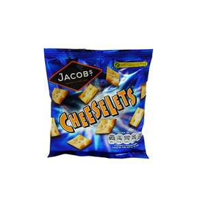 6 x Jacobs Cheeselets30g - £1 @ Fulton Foods