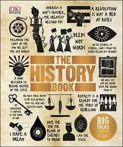The History Book: Big Ideas Simply Explained.  Kindle Edition of Dorling Kindersley (DK) £1.49 @ Amazon