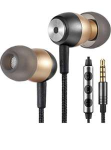 Betron GLD60 Noise Isolating Earphones £5.94 + £4.49 delivery Non Prime Sold by Betron Limited ( VAT Registered) and Fulfilled by Amazon.