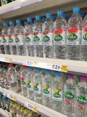 Volvic touch of fruit Watermelon/Strawberry + More 50p @ Tesco