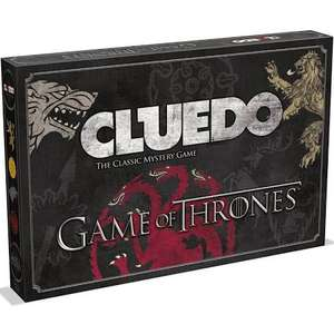 Game of Thrones Cluedo Mystery Board Game £10.99 delivered @ Amazon - Sold by Robert Dyas