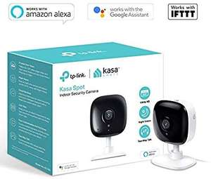 TP-Link Security Camera, Indoor CCTV, No Hub Required, Works with Alexa, Google Home/Chromecast and IFTTT - £29.99 @ Amazon