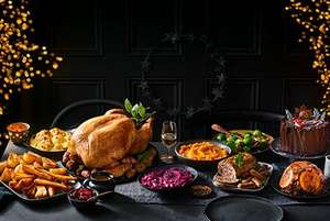 Spend £85 get free bottle of wine on Christmas food @ M&S