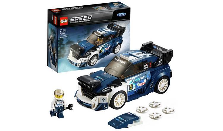 LEGO Speed Champions Ford Fiesta MSport WRC Toy Car (75885) - 2 for £15 @ Argos