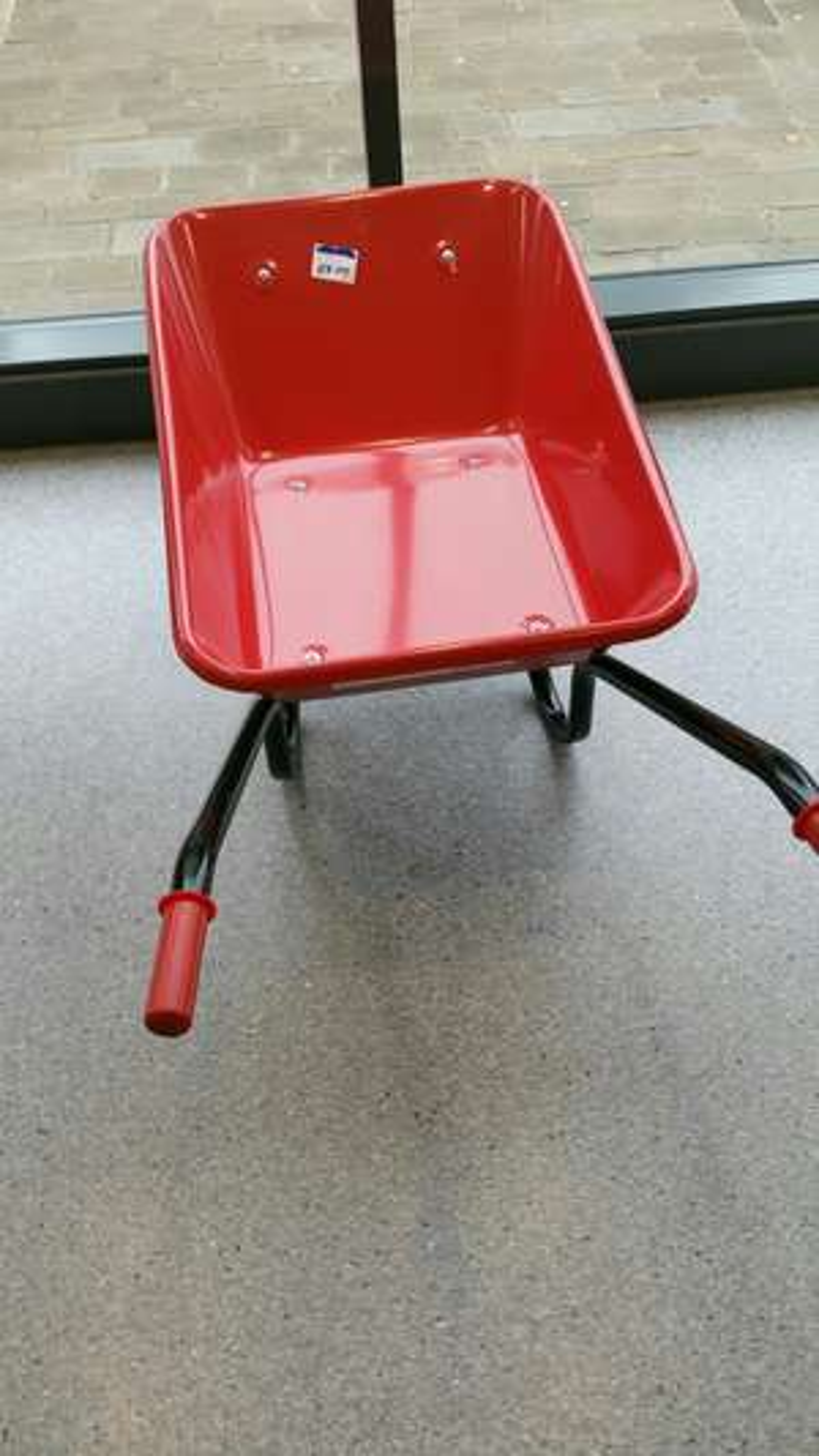 Red Metal Wheelbarrow £8 at Wilko (Blackburn) instore