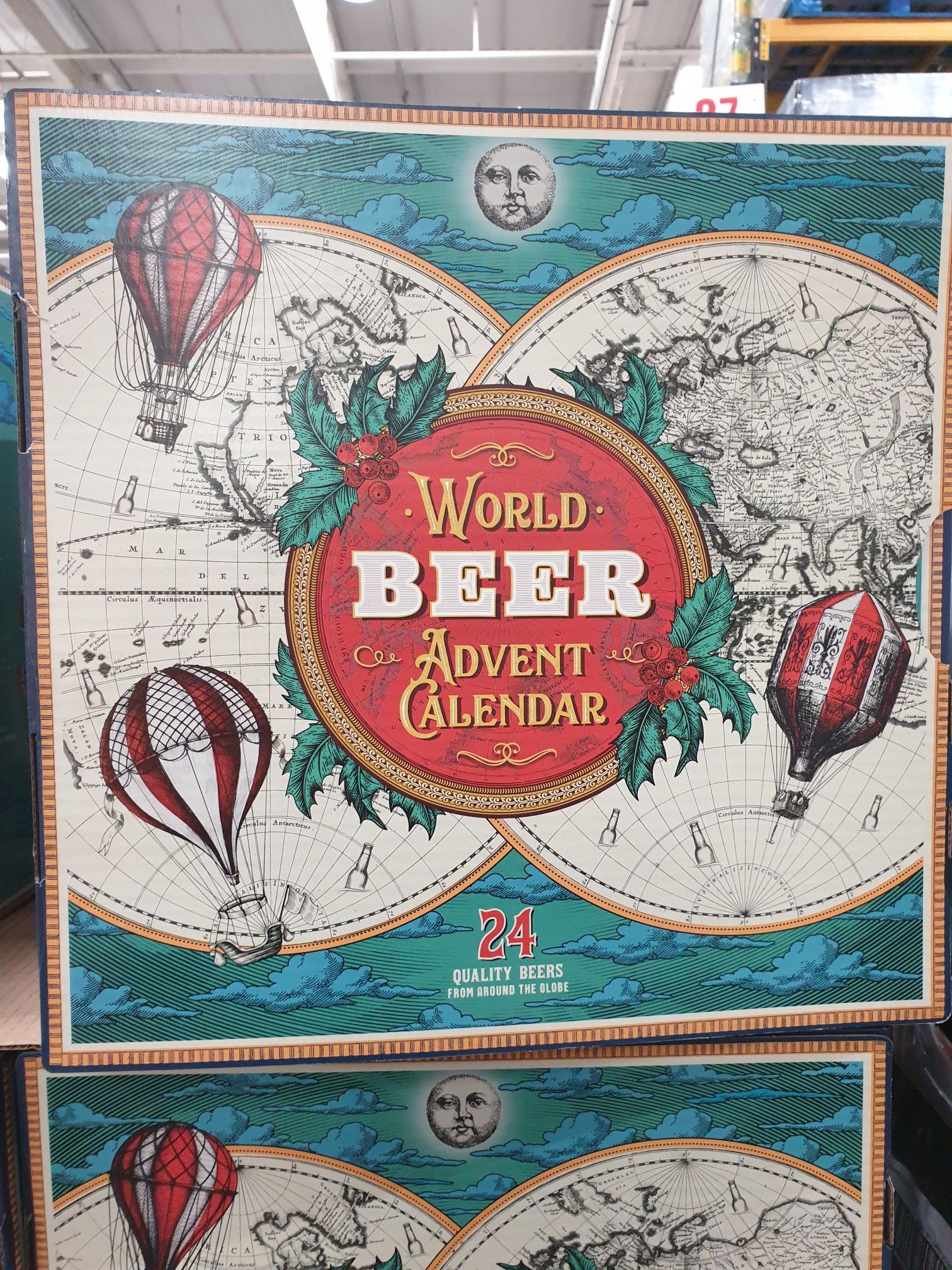 World Beer Advent Calendar' £35.98 @ Costco (Thurrock)
