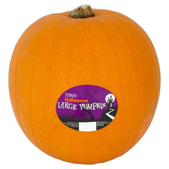 Large Pumpkins 2 for £3 at Tesco Instore & Online