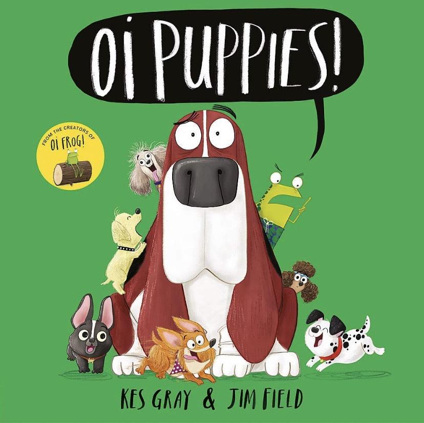 Oi Puppies, Hardcover, the new Kes Gray book (Oi Frog) £6.99 at Amazon Prime / £9.98 Non Prime
