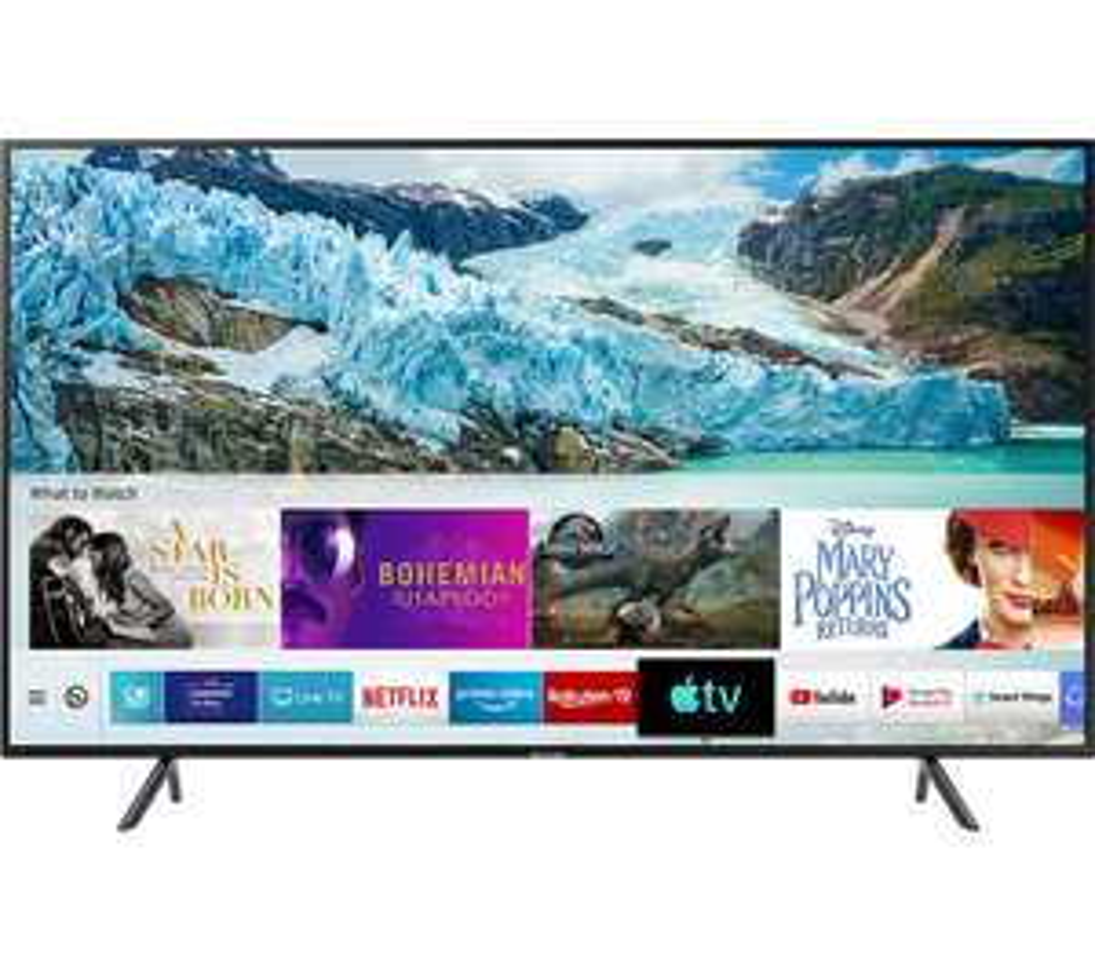 "Samsung 50"" RU7100 4K Smart UltraHD HDR TV + FREE JBL Bar Studio 2.0-Channel Soundbar with Bluetooth £399 at BT Shop"