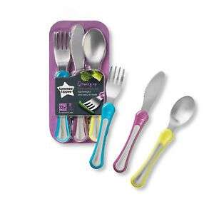 Tommee Tippee Explora First Grown Up Cutlery Set x 2 for £4.59 via Amazon S&S (+£4.49 Non-prime)