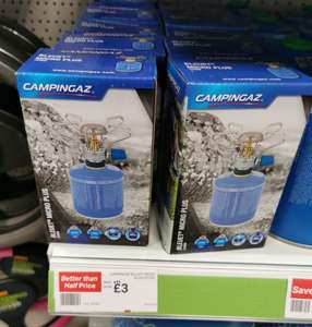 Bluer micro plus camping stove £3 in Halfords Plymouth