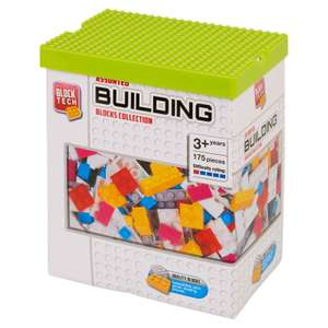 Block Tech Assorted Building Blocks Collection 175 Piece £1.25 @ Morrisons instore