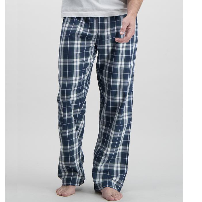 Navy & Purple Check Pyjama Bottoms 2 Pack £12.80 at Sainsbury's Tu Clothing