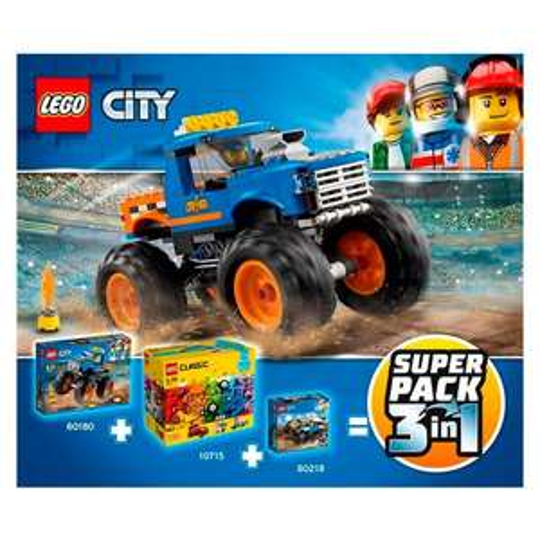 LEGO Superpack 66615 £22.50 @ Tesco