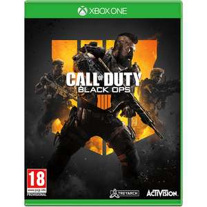 Call of Duty Black Ops 4 Xbox One and PS4 £15 instore @ Morrisons (Hatch End)