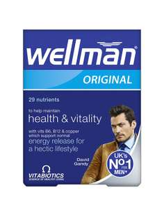 Wellman Original Vitamins £1.50 at Asda in store