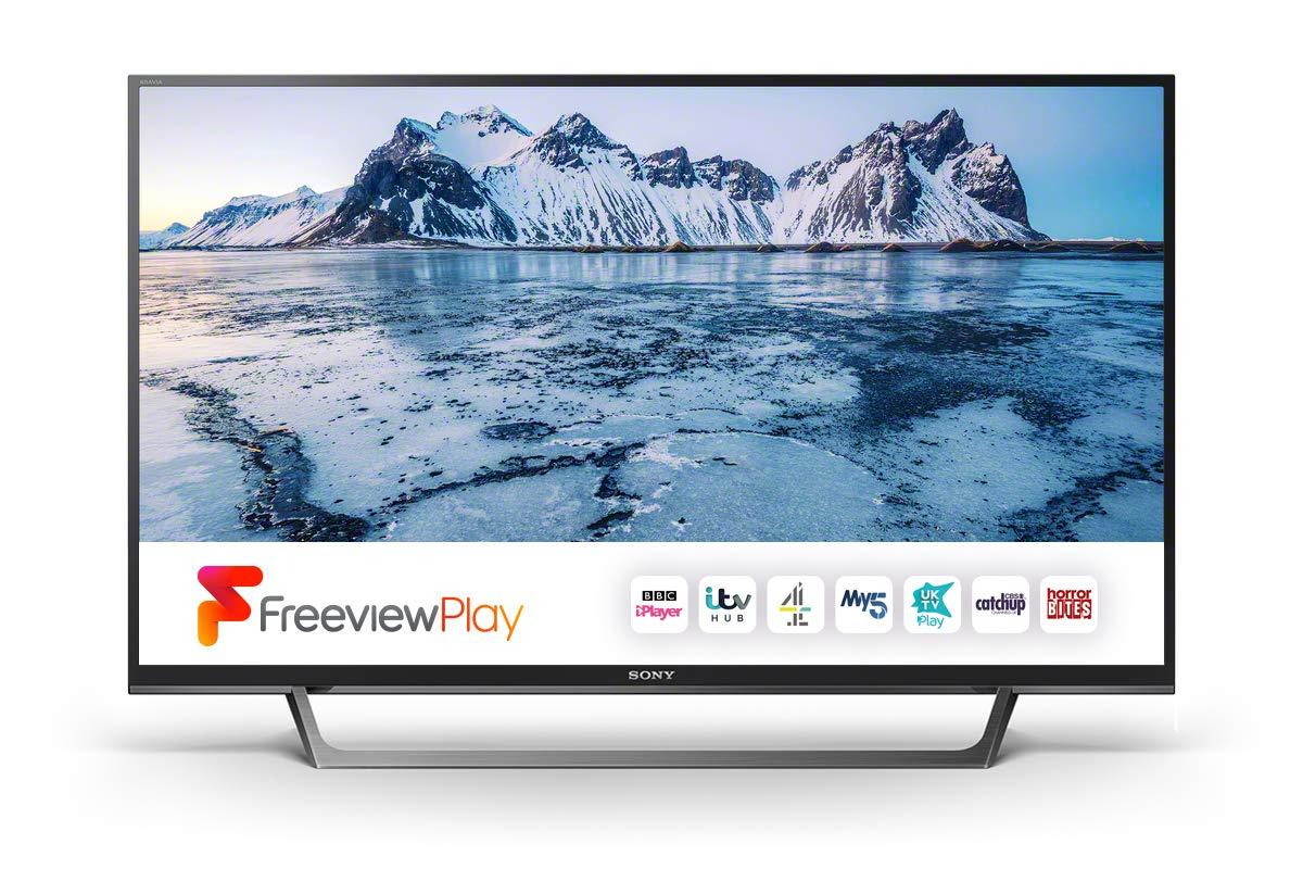 Sony Bravia KDL32WE613BU (32-Inch) HD Ready HDR Smart TV (X-Reality PRO, Slim and streamlined design) - Black [Energy Class A] £204 @ Amazon