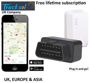 GPS Vehicle Tracker OBD II interface plug and play no wires easy fit lifetime Maps and subscription included £44.99 @ Studentcomputers