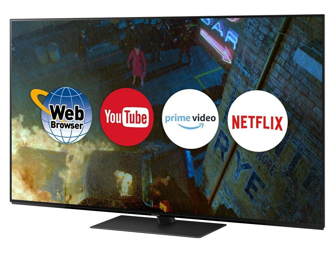 Panasonic TX-65FZ802B 65 Inch SMART 4K Ultra HD HDR OLED TV - Refurbished £999 delivered @ panasonic ebay