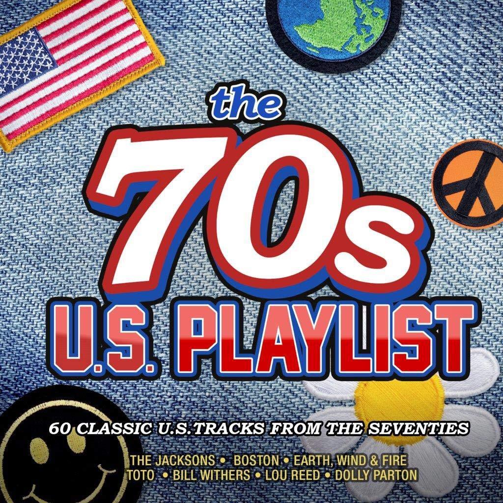 The 70s U.S. Playlist [3CD Compilation] + MP3 version - £3 delivered @ Amazon Prime / Non-Prime £5.99