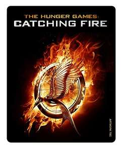 The Hunger Games: Catching Fire Limited Edition Steelbook Includes Blu-Ray Uncut, DVD + UV £3.92 @ Amazon UK Prime / £5.90 non Prime