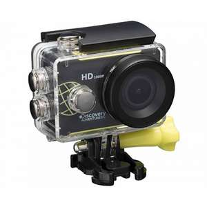 Discovery Adventures 1080P Full HD Action Camera for £14.99 Free C&C @ Ryman