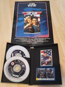 Limited Edition VHS Style blu-ray + DVD + poster + collectable bubblegum card and sticker £9.99 each or two for £15 instore at HMV