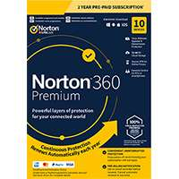 PC Pro Magazine offering Norton 360 Premium 10 Devices for 2 years for £29.99 or 10 devices 1 year for £19.99