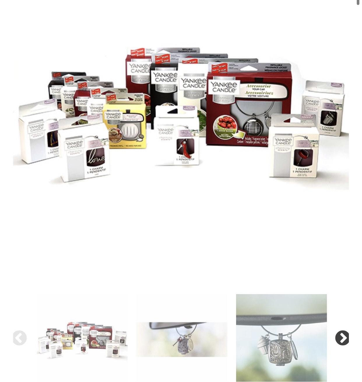 Yankee Candle Charming Scents Kit Car Air Fresheners £10 at Yankee Bundles