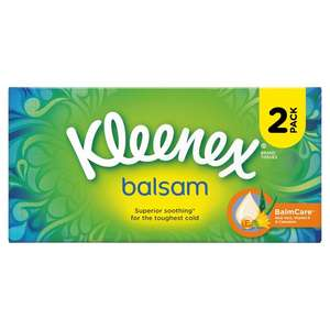Twin Pack Kleenex Balsam £2.00 at Morrison's Peterborough Lincoln Rd Store