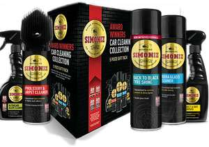 Simoniz car cleaning collection £5 instore @ Morrisons Birtley
