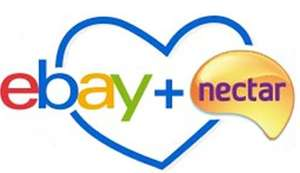 Up to 1,250 Nectar points when you make a purchase on Ebay (Account Specific)