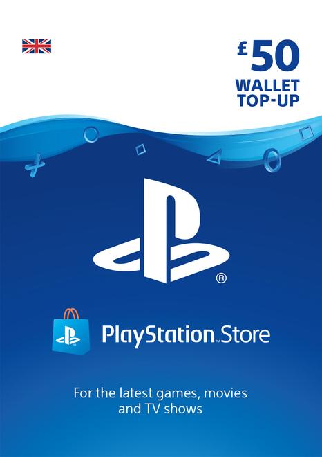 PlayStation Network Wallet Top Up £50 ( PSN ) Digital £41.85 @ ShopTo